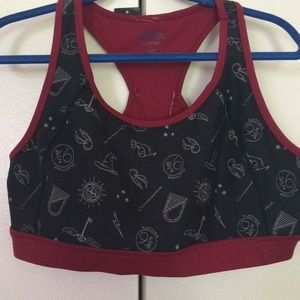 Harry Potter sports bra from Torrid, size 2.